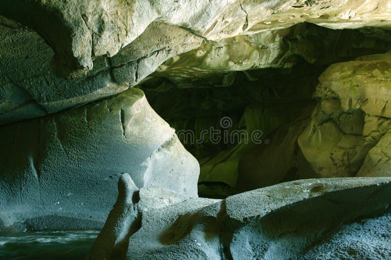 洞石灰石 库存图片