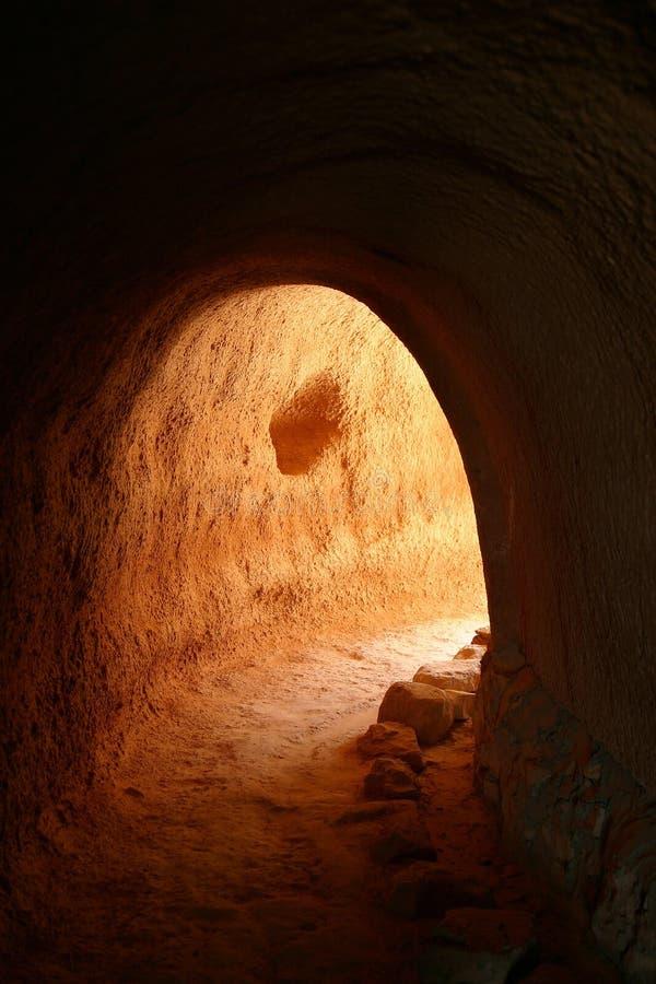 洞穴居人 免版税库存照片