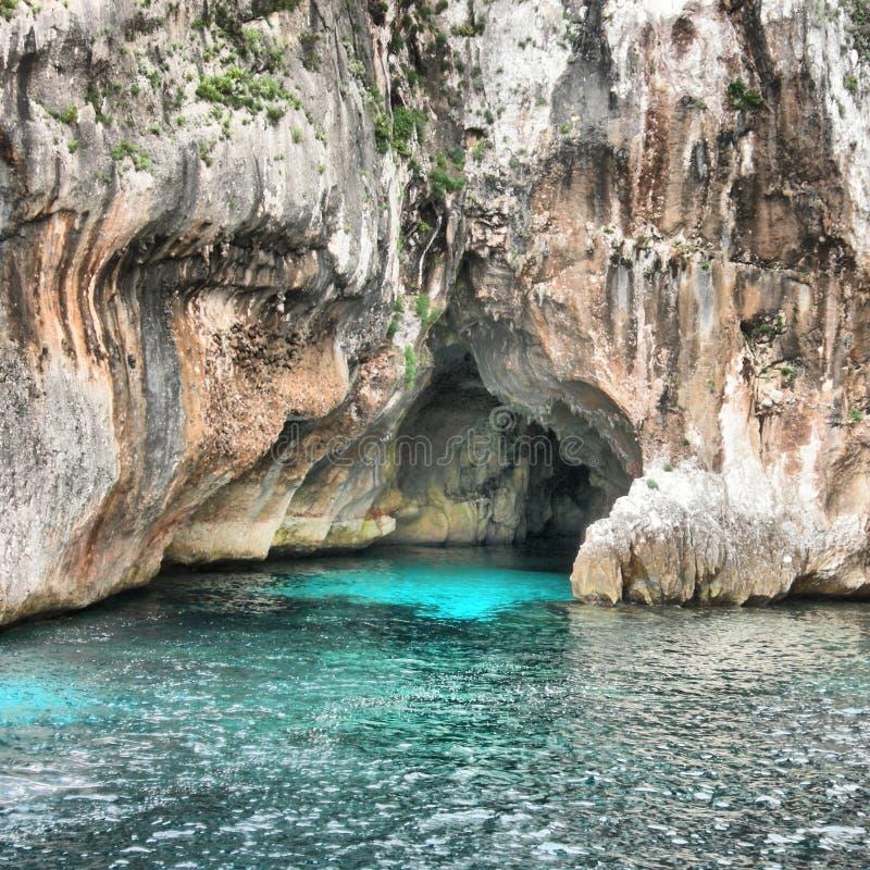 洞穴海王星 图库摄影