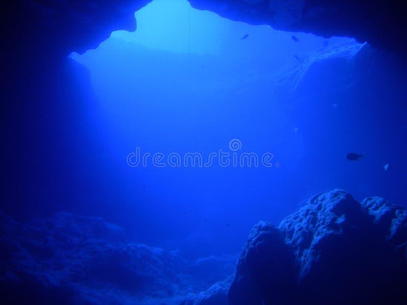 洞穴漩涡 免版税库存图片