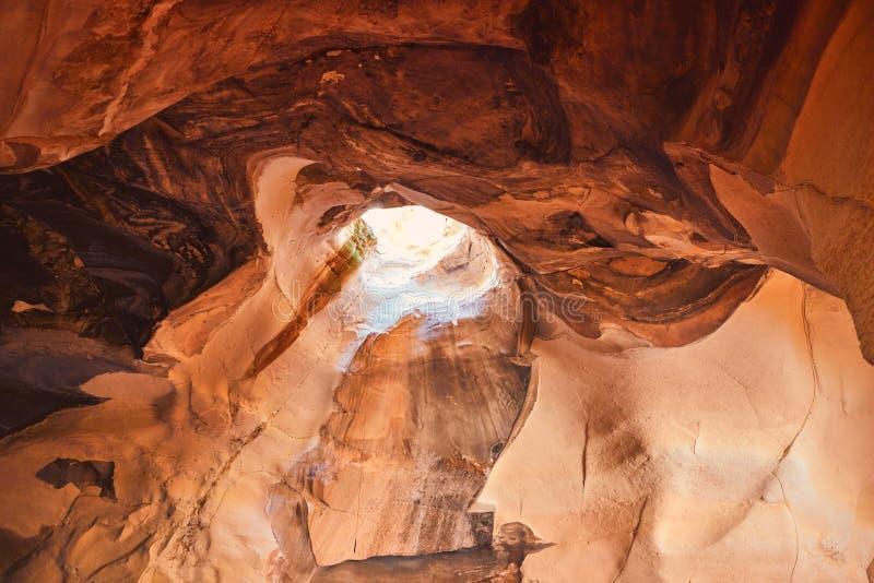 洞ar打赌了Guvrin国立公园 免版税库存图片