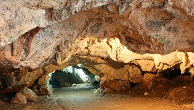 洞dawamat洞穴 库存照片