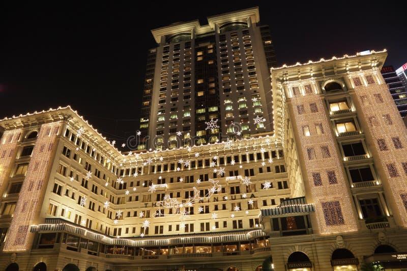 洪旅馆kong半岛 免版税库存照片