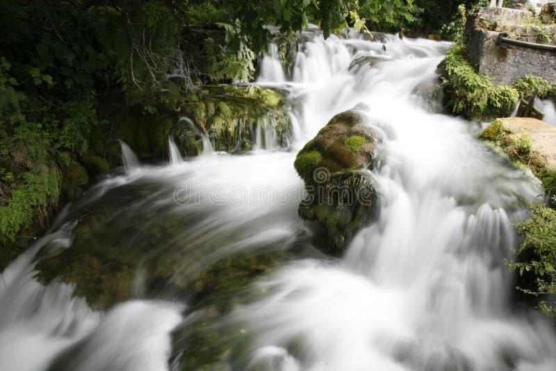 洪流 免版税图库摄影