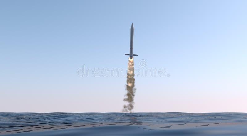 洲际弹道导弹 皇族释放例证