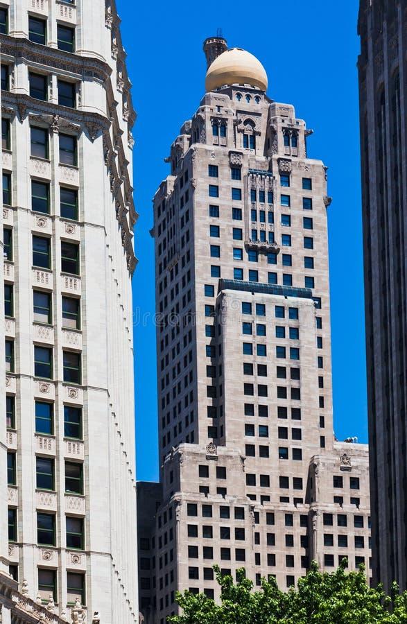 洲际芝加哥的旅馆 图库摄影