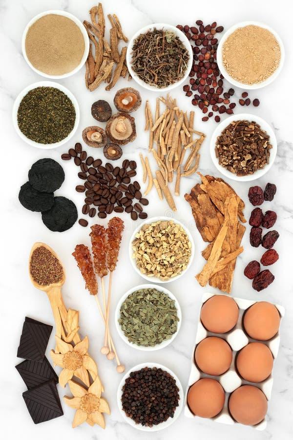 活力与健身保健食品 免版税图库摄影