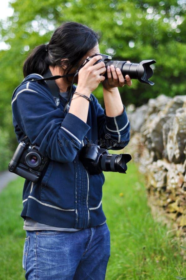 活动摄影师 免版税图库摄影