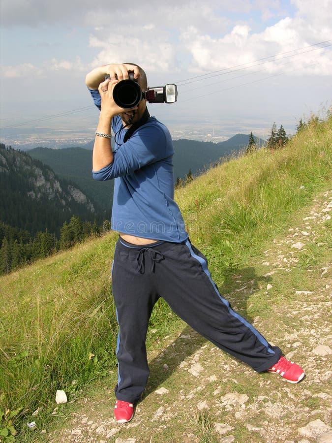 活动无固定职业的摄影师 图库摄影
