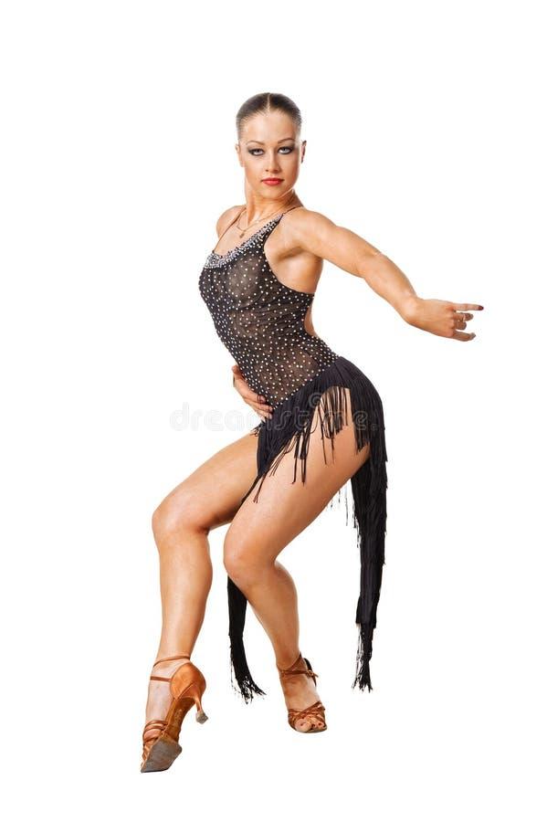活动舞蹈演员拉丁美洲人 库存照片
