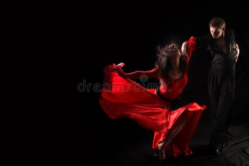 活动舞蹈演员 图库摄影