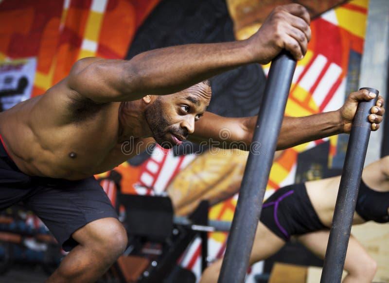 活跃人体育锻炼概念 库存图片