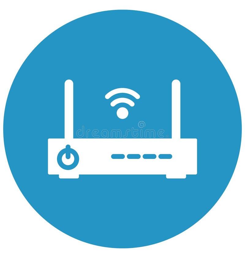 流动互联网助推器隔绝了可能容易地修改或编辑的传染媒介象 库存例证