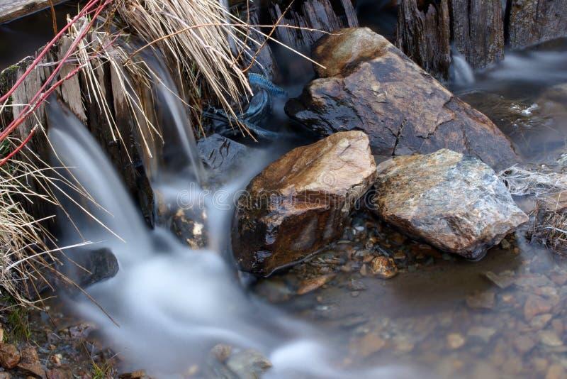 流动性石头 免版税图库摄影