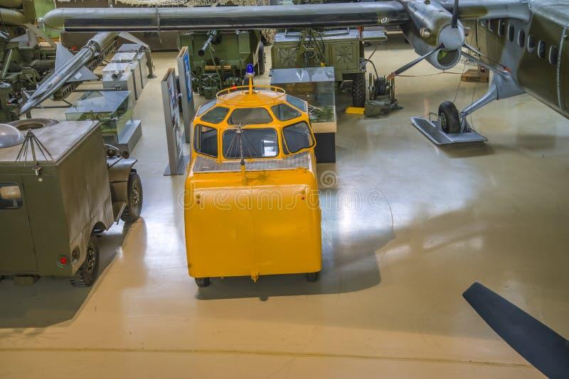 流动雷达和耐克导弹的跟踪系统 免版税图库摄影