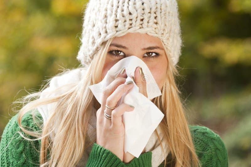 流感 库存照片