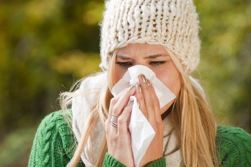 流感 免版税库存照片