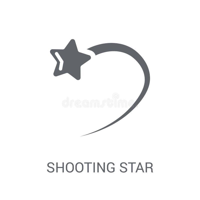 流星象  向量例证