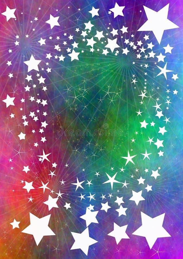 流星 向量例证