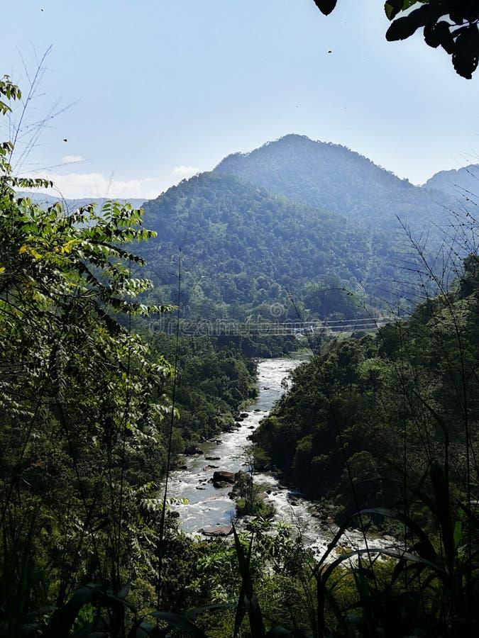 流本质泰国水 免版税库存照片