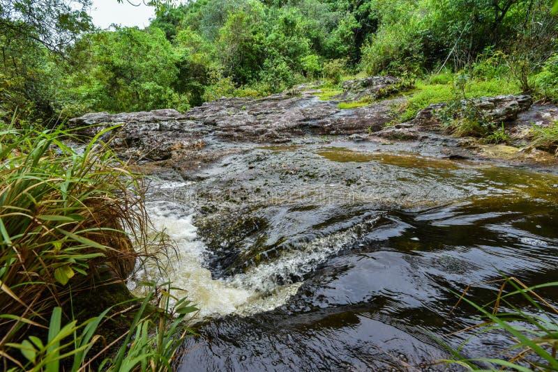 流本质泰国水 免版税图库摄影