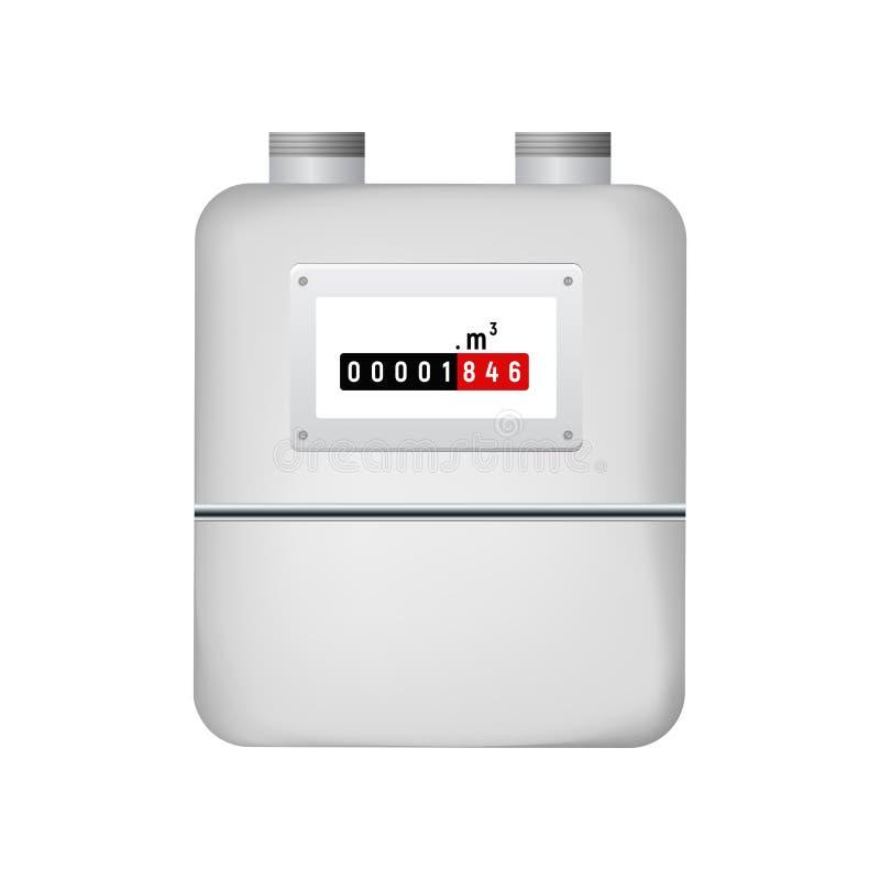 流气体评定的米本质 向量例证