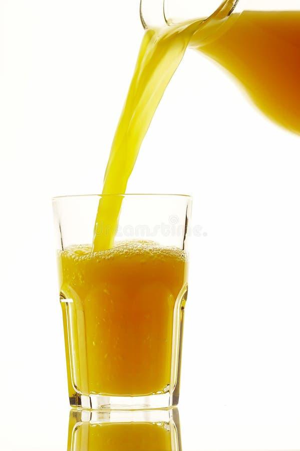 流的汁液 免版税库存照片