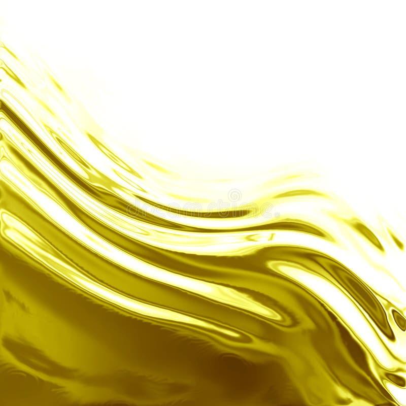 流的油 向量例证