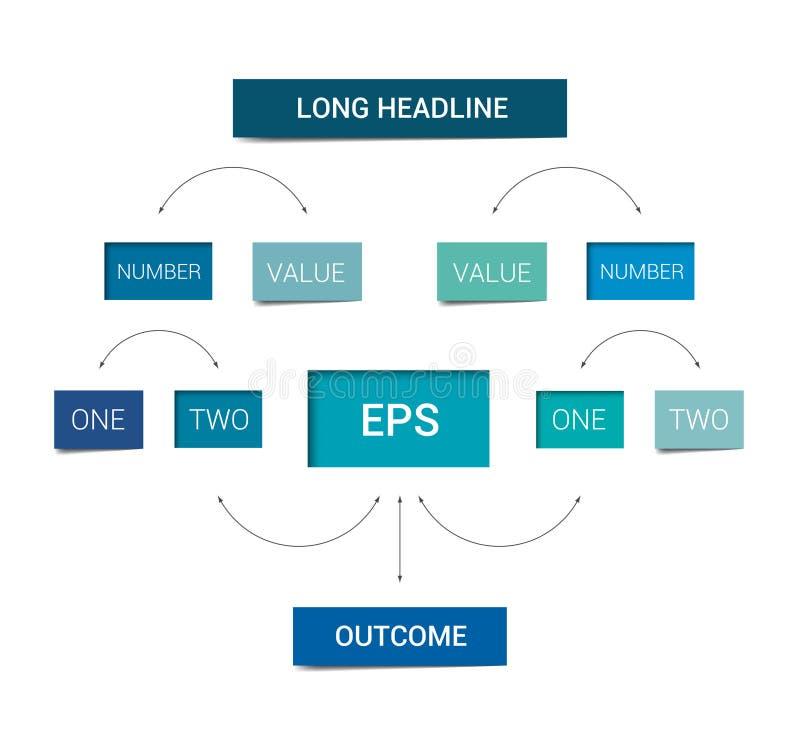 流程图计划 Infographics图元素 库存例证