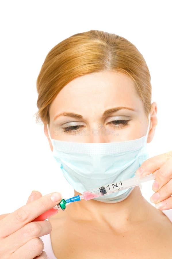 流行病h1n1 免版税图库摄影