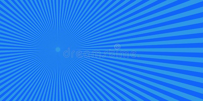 流行艺术中间影调蓝色红色背景 库存图片
