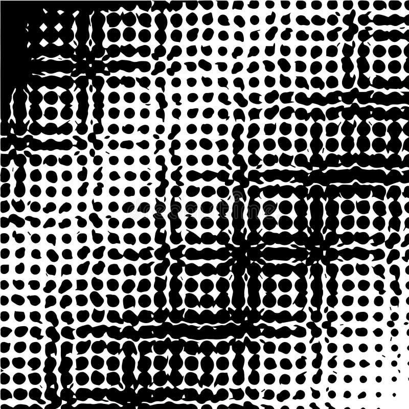 流行艺术模板,纹理 半音光点图形 ?? r 向量例证