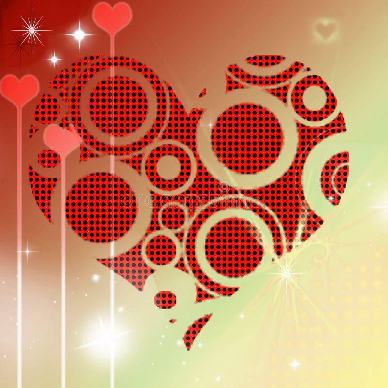 流行音乐心脏情人节 免版税图库摄影