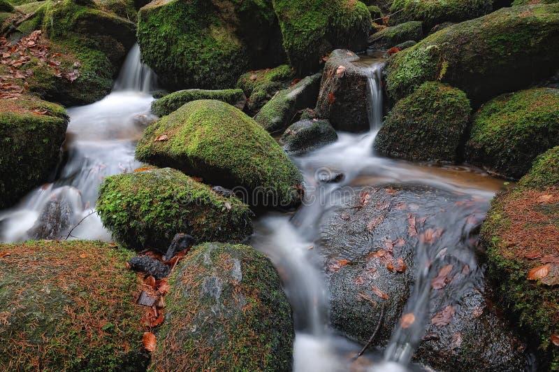 水流量 免版税库存照片