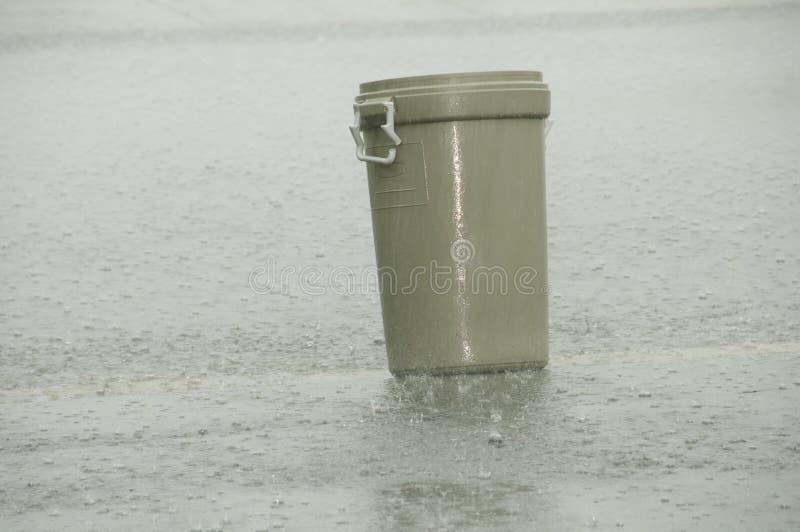 洪流雨 免版税库存图片