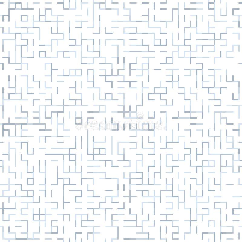 浅灰色在白色背景任意线样式 库存例证