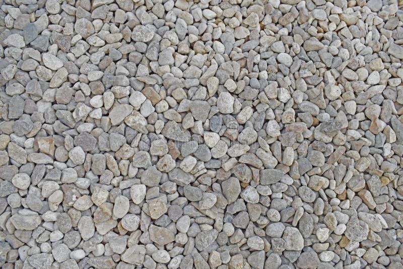 浅灰色的小小卵石 图库摄影