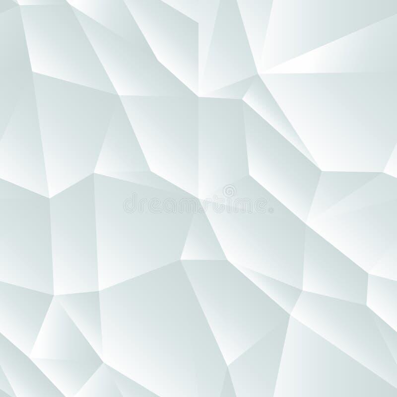 浅灰色的无缝的抽象几何背景 皇族释放例证