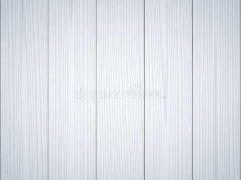 浅灰色的蓝色木纹理 向量例证