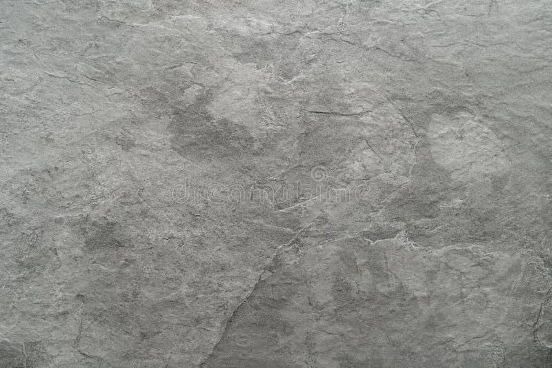 浅灰色的黑板岩石头背景或纹理 库存图片