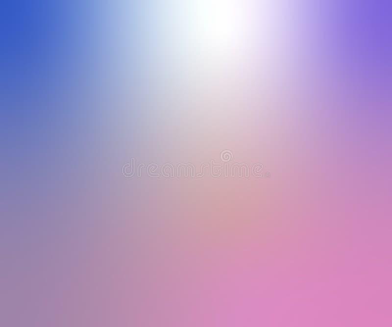 浅紫色的传染媒介与焕发的被弄脏的背景 艺术设计样式 与典雅明亮的闪烁抽象例证 库存例证