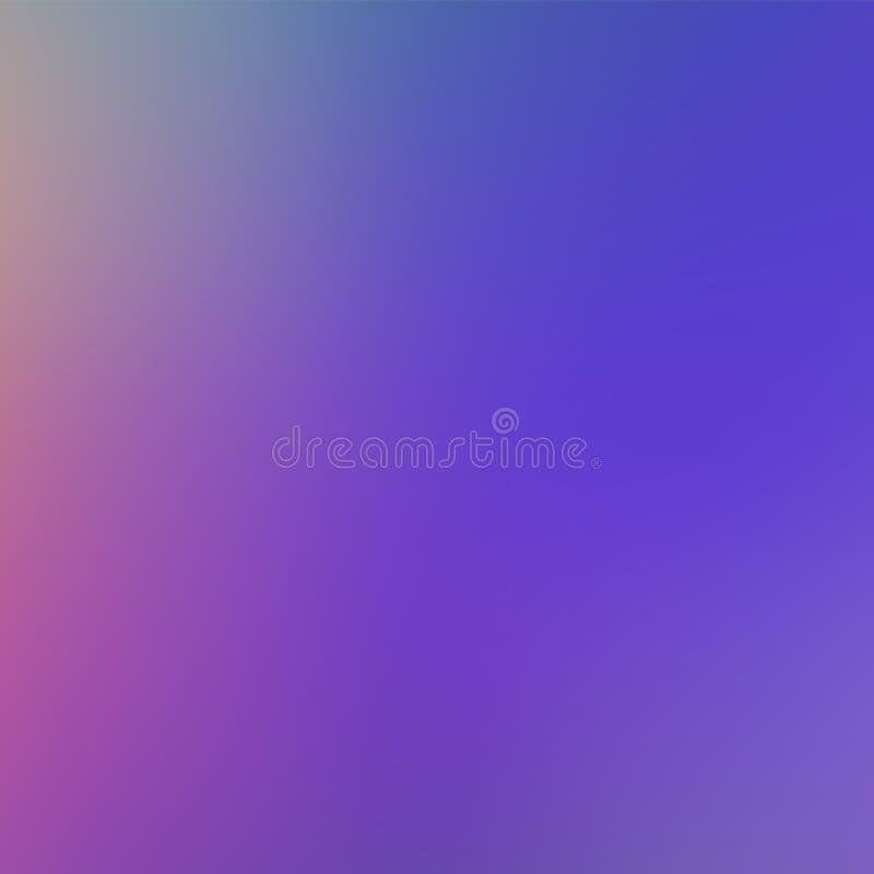 浅紫色的时髦梯度背景 Defocused软的被弄脏的背景 向量例证