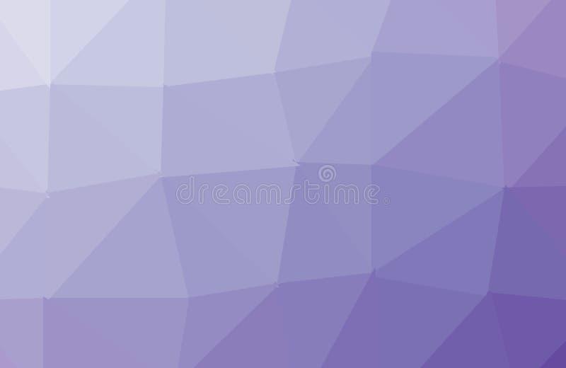 浅紫色,桃红色传染媒介样式 三角模板 几何样品 重复与三角形状的惯例 新的纹理为 皇族释放例证