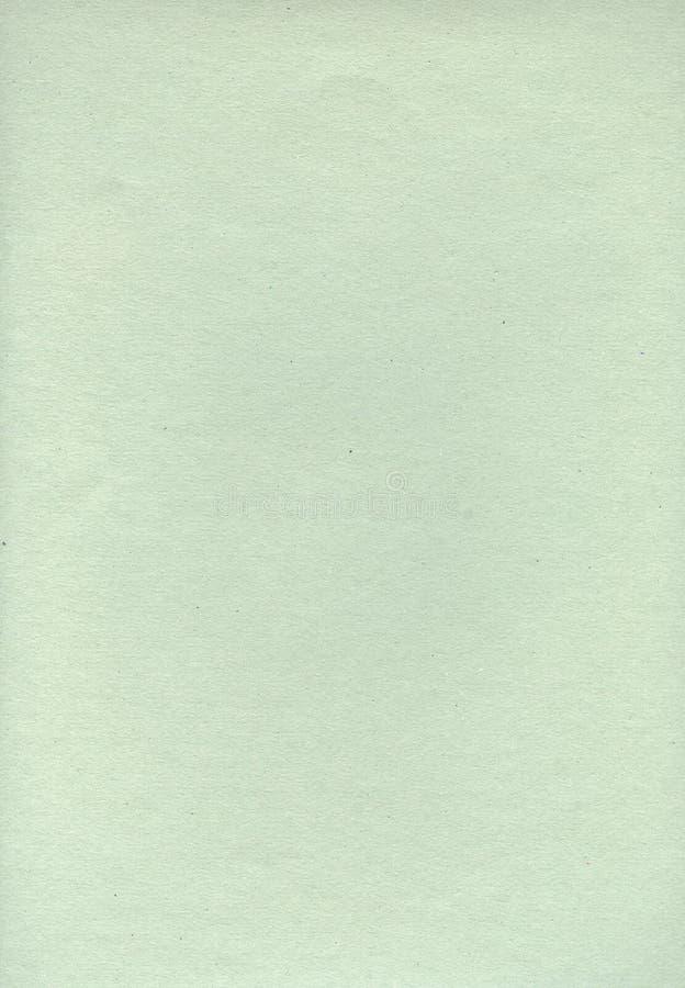 浅绿色的背景 纸页 轻的纹理 创造性的纸 免版税库存照片