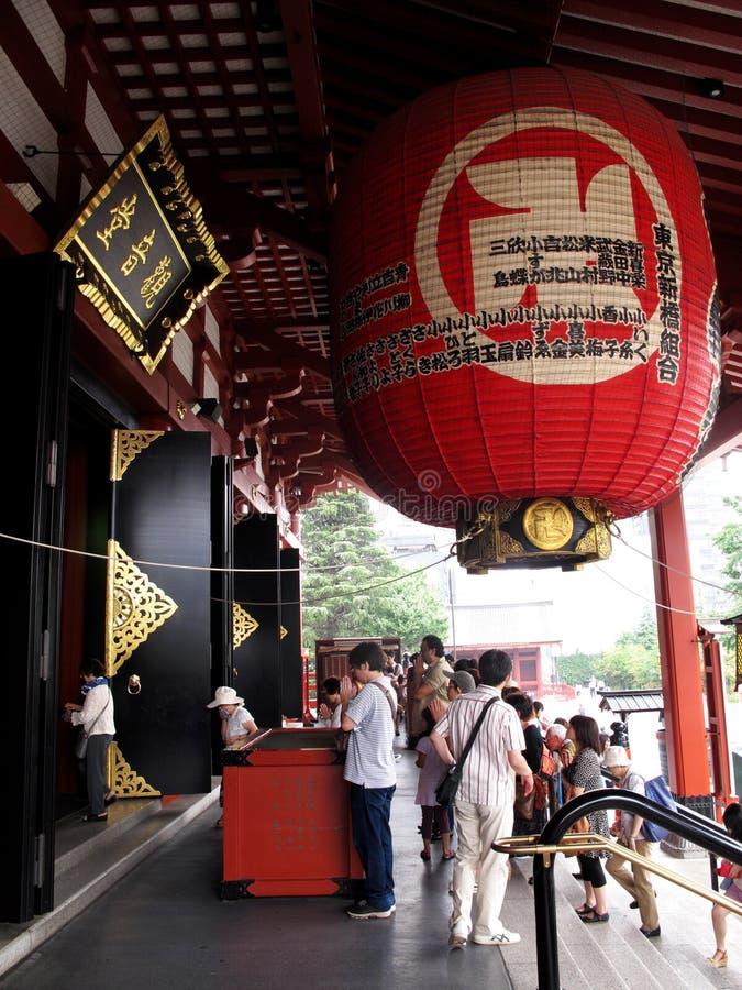 浅草或Sensoji寺庙 库存照片