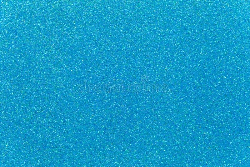 浅蓝色闪烁背景 库存图片