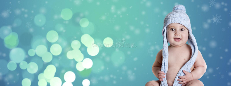 浅蓝色雪 免版税图库摄影