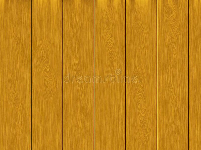 浅褐色的木板条纹理背景 向量例证