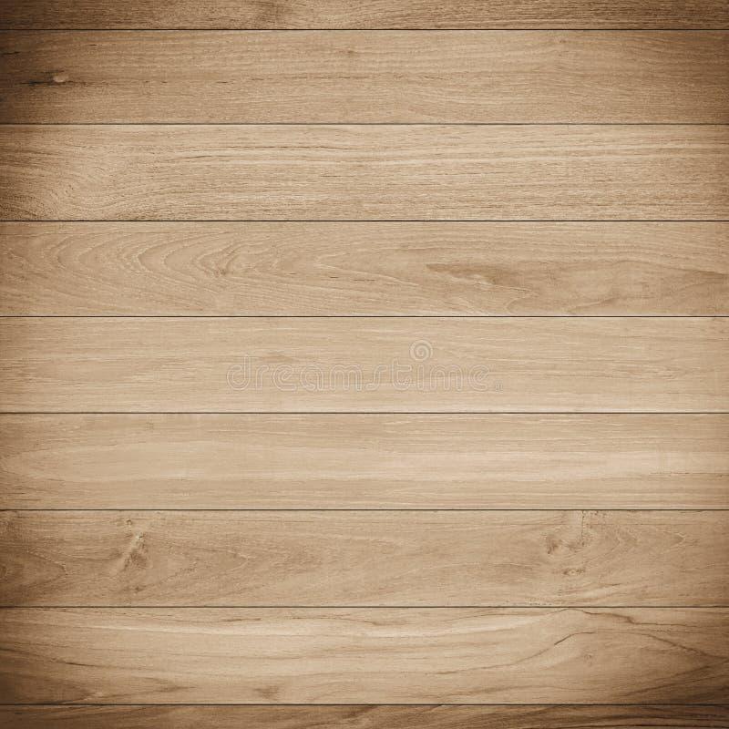 浅褐色的木板条纹理背景 图库摄影