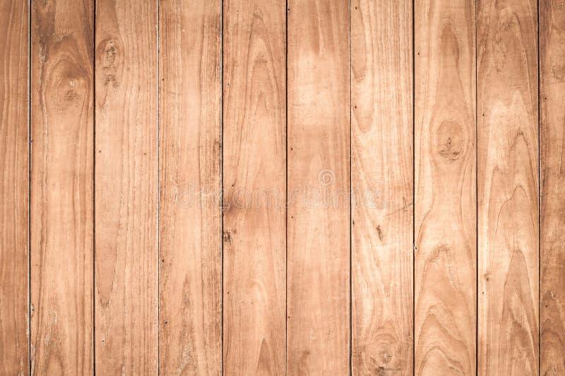 浅褐色的木背景 库存图片